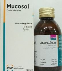 MUCOSOL 2% pediatric & 5% adult syrup … Mucolytic